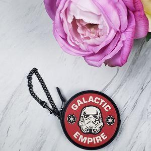 Coach Star Wars X Galactic Empire Round Coin Purse